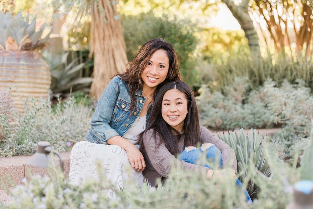 Arizona Family Photographer Desert Botanical Garden Phoenix