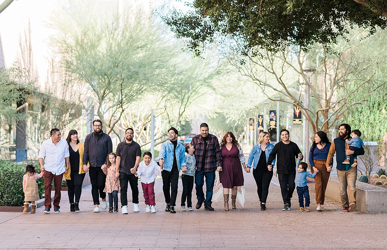 Extended Family Photography Downtown Phoenix Arizona