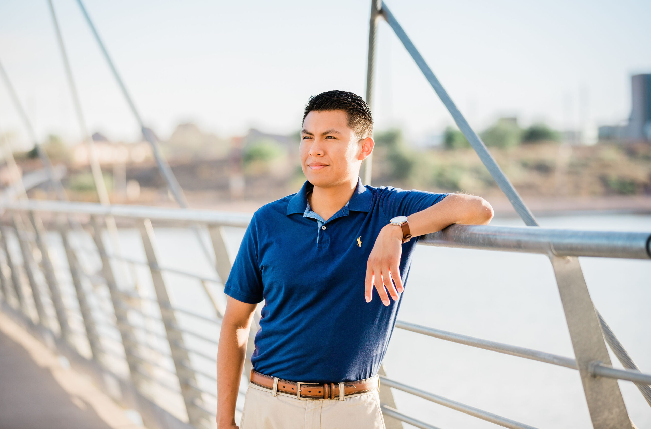 Downtown Tempe Lake Arizona Senior Photography Prickly Pear Photography